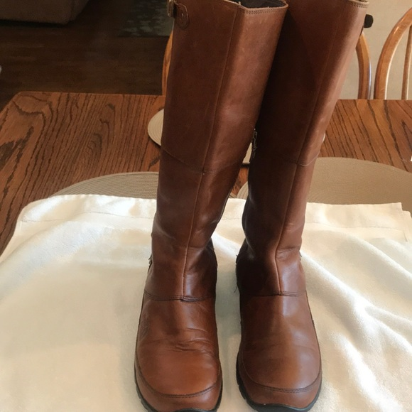 North Face Leather Boots Size